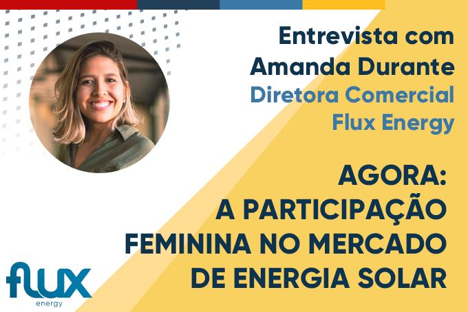 Agora: A participação feminina no mercado de energia solar