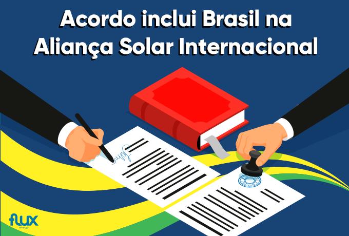 You are currently viewing Acordo inclui Brasil na Aliança Solar Internacional