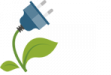 icone - planta e folhas